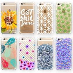 designer iphone 6 cases aliexpress buy phone cases for apple iphone 6 6 plus transparent fashion pattern