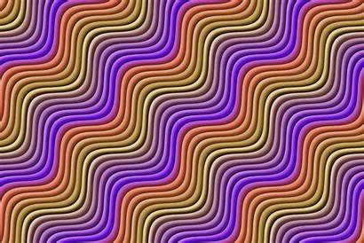Wavy Background Colour Rainbow Colors Svg Clipart