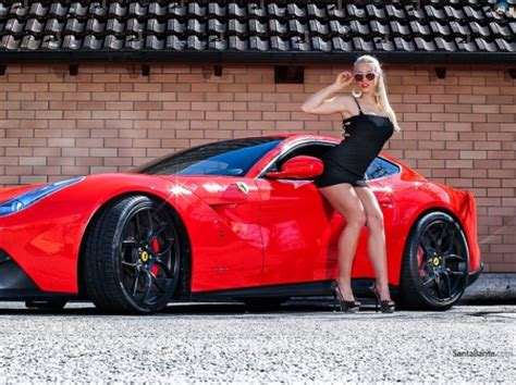 sport cars with girls red girls and cars cars background wallpapers