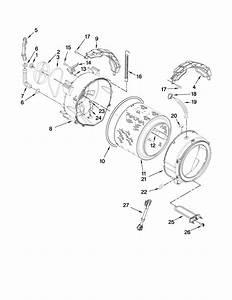 Kenmore Elite He3 Washer Parts Diagram