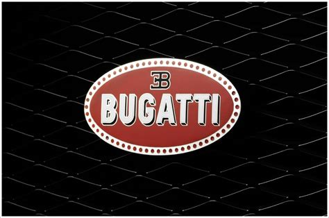 Car With Eb Logo by Bugatti Logos