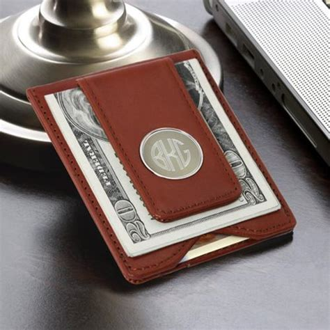 personalized money clip  card holder magnetic mens