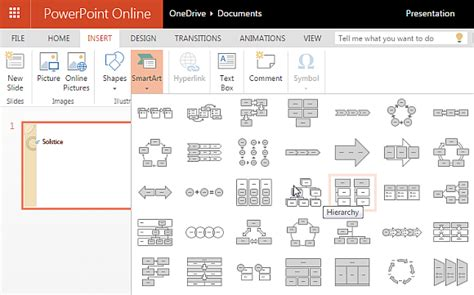 Microsoft Office Smartart Templates by Solstice Presentation Template For Powerpoint