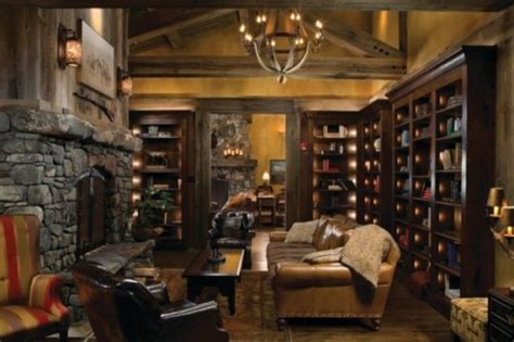 wonderful home library ideas