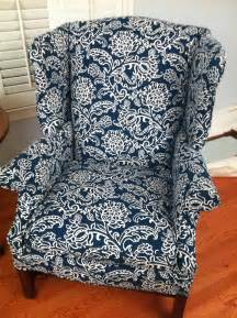 homey ideas wing chair slipcovers joshua and tammy