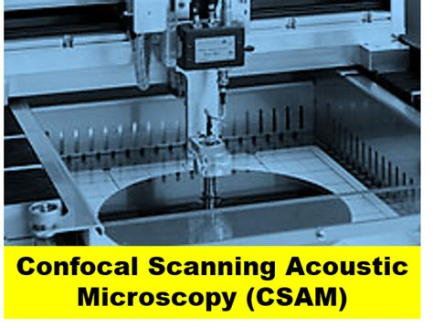 confocal scanning acoustic microscopy csam