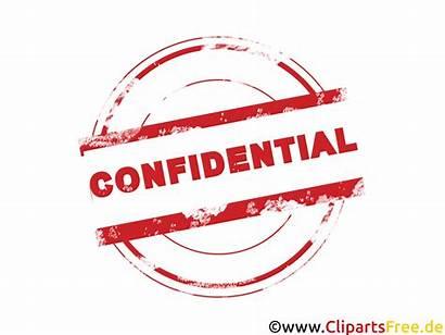 Stempel Clipart Confidential Schrift Stamp Approved Bild