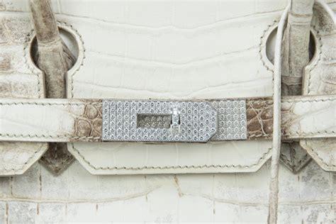 hermes birkin bag cm himalayan diamond encrusted  matching kelly gm bracelet  sale