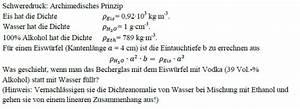 Thermische Leistung Berechnen : formel archimedisches prinzip nanolounge ~ Themetempest.com Abrechnung