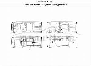 Buy Original Ferrari 512 Bb 115 Electrical System Wiring