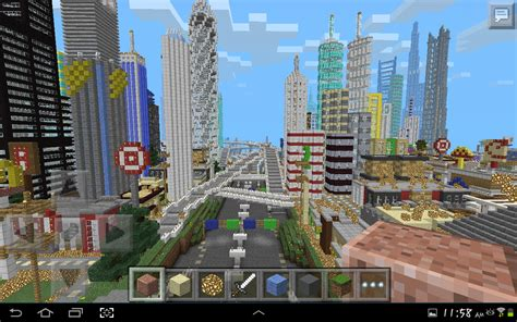 City Maps For Minecraft Pe (pocket Edition)