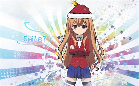cute anime girl christmas wallpapers hd pixelstalknet