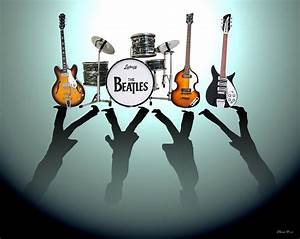 The Beatles Digital Art by Lena Day