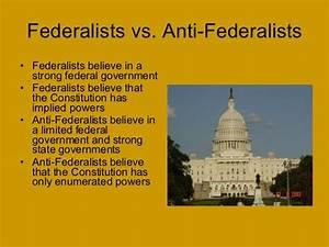Federalist Vs
