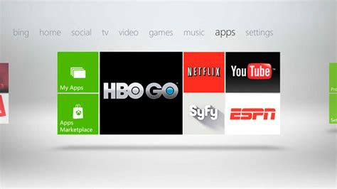 Xbox Live Entertainment Apps Available To Non-gold Members
