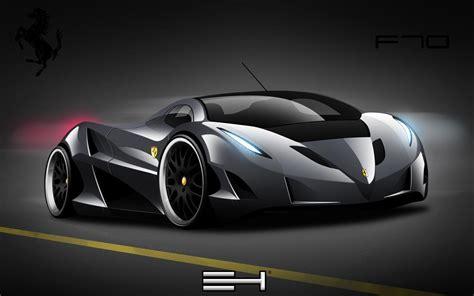 Black Ferrari Cars Wallpapers  Wallpapers Gallery