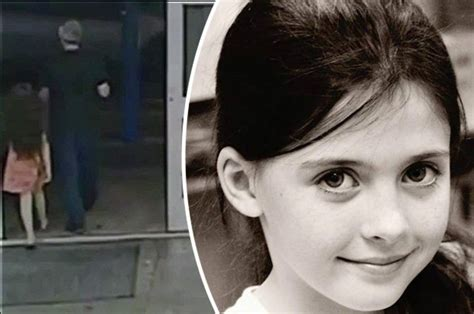 Moment Girl 8 Leaves Shop With Suspected Killer After Promise Of Mcdonalds Daily Star