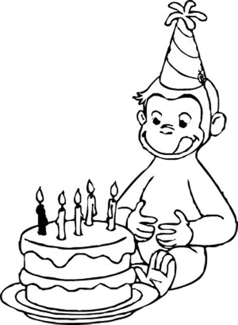 Printable Curious George Coloring Pages Bestofcoloringcom