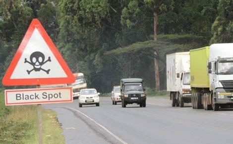black spots on national highways redesign road at salgaa black spot mp tells gov 39 t