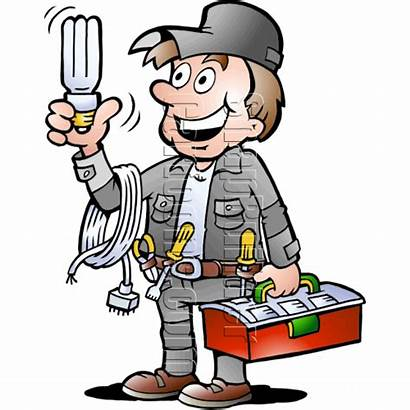 Electrician Handyman Electrical Tools Clipart Tool Handy