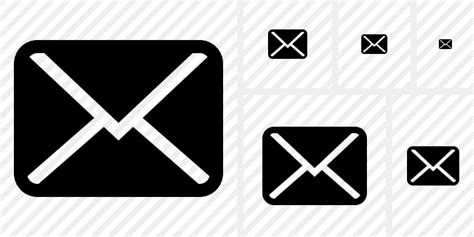 Mail Icon. Symbol Duo. Professional Stock Icon And Free