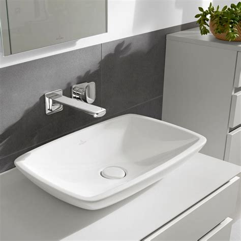 villeroy und boch loop and friends aufsatzwaschbecken villeroy boch loop friends rectangle surface mounted basin bathrooms direct
