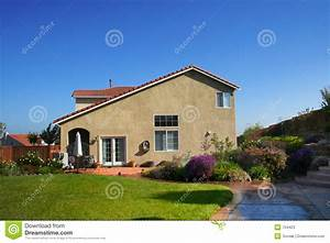 American Single Family House Stock Photos - Image: 754423