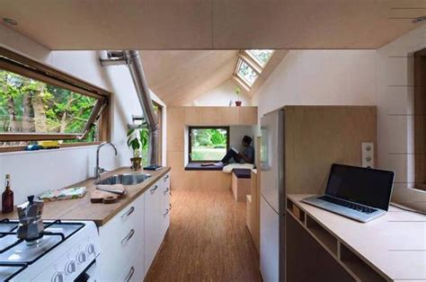 dutch womans modern tiny house  approval  local
