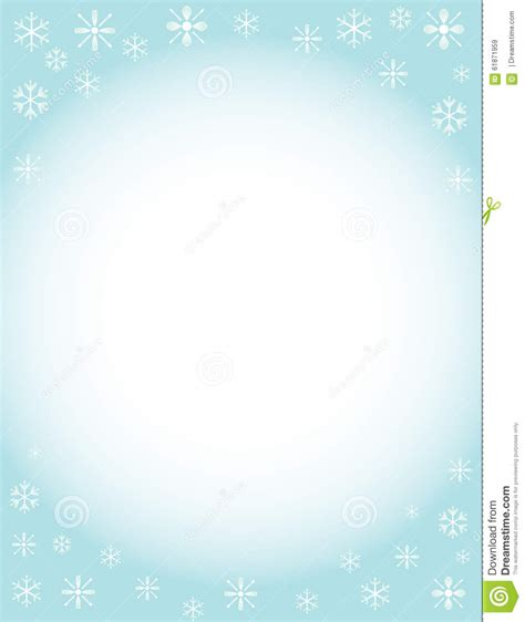 Background Winter Template by Winter Brochure Background Stock Illustration