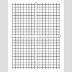 4 Quadrant Coordinate Grid (horizontal) By Sarah Gilbert Tpt
