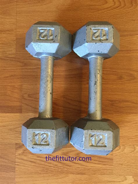 rusty weights restore dumbbells weight rust remove increase should check