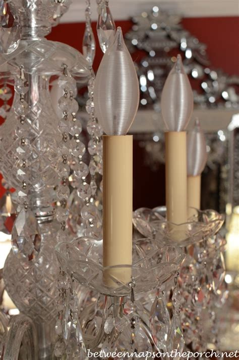 chandelier candle covers resin candle covers and silk wrapped bulbs for the bedroom