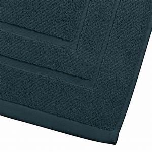 tapis de bain 700g m2 70x50cm bleu canard With tapis bleu canard