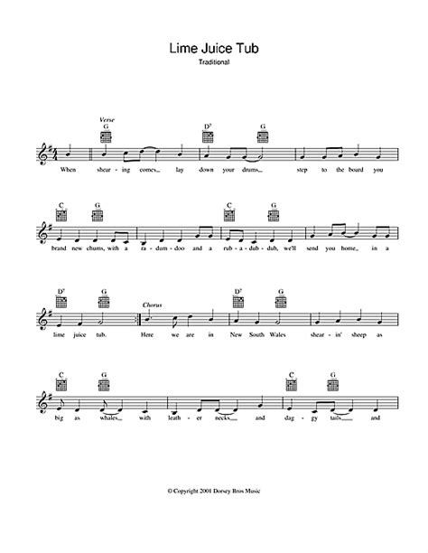 tub lyrics lime juice tub chords by traditional melody line lyrics