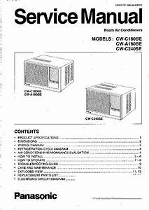Panasonic Air Conditioner Installation Instructions