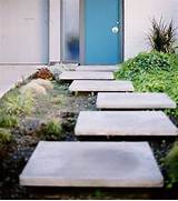 Modern Landscape Ideas For Front Of House Foyer Storage Modern Compact Sized Backyard Landscape Ideas With Grass And Bamboo Ideas Front Yard Landscape Ideas That Make An Impression Yard Formal Garden In Other With A Garden Path And Concrete Pavers