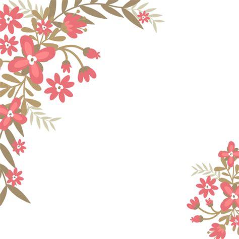 Molduras Arredondadas Com Flores Png