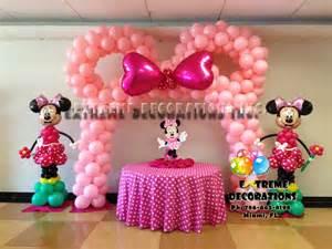 Minnie Mouse Birthday Party Decoration Idea