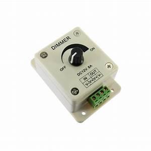 Variateur Pour Led : variateur d 39 intensit rotatif pour ampoule dimma led 12v ~ Edinachiropracticcenter.com Idées de Décoration