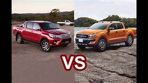 2016 Toyota Hilux Revo Vs 2016 Ford Ranger Wildtrak - Design