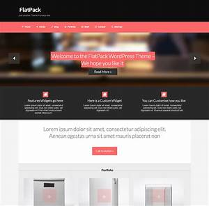 wordpress custom menu template - flatpack responsive flat wordpress theme wpexplorer