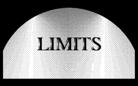 The Limits Everything Universe Humanity More