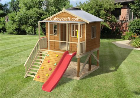 Blue Gum Cubby House Playground Equipment