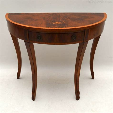 vintage side tables for antique yew wood console side table antiques atlas 8844