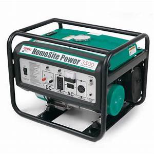 Cummins Onan P3500 2500 Watt Homesite Generator