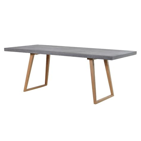 rectangle dining tables dining tables concrete top rectangular dining table 1750