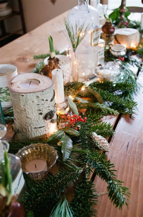 fresh christmas centerpieces remodelaholic 30 ways to use fresh evergreen boughs