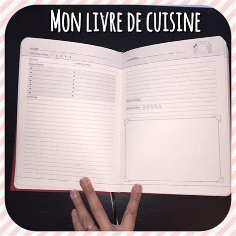 mon livre de cuisine chéri chéri le corps la maison l