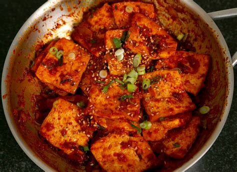 braised tofu korean