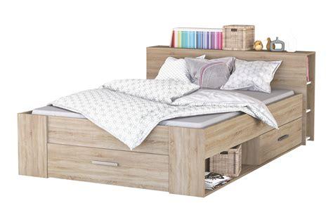 140x200 Bett Pocket Sonoma Eiche Von Demeyere